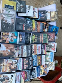 105 Movie DVD's   Selling all for $65 Houston, 77062