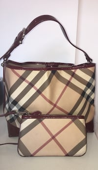 Authentic Burberry classic supernova check large tote handbag Toronto, M6H 3M7