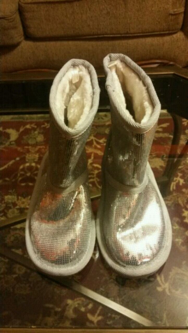Photo GIRL'S TODDLER'S GLITTER BOOTS SZ.13
