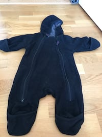 blå zip-up sovsuit Eskilstuna, 632 25