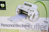 Cricut Personal Electronic Cutter with accessories