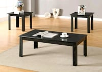 Brand New Black Wood 3 Piece Coffee Table Set  Silver Spring, 20902