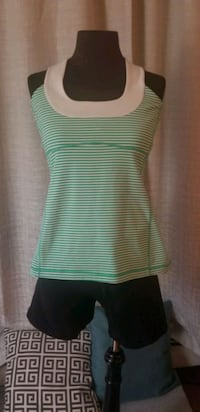 Cant go out? We deliver! Lululemon 2pc Tank and Shorts  London, N5X 2P4