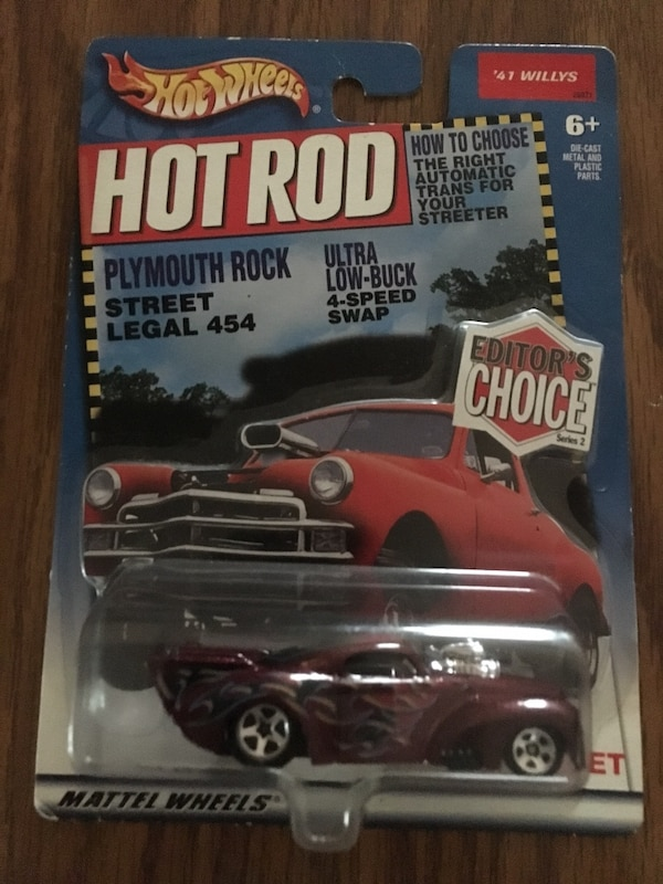 Hot Wheels 2000 Hot Rod Plymouth Rock Street Legal 454  41 Willy's