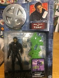New from 2000 ray park as toad x-men figures retail $25  North Arlington, 07031