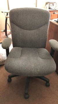 gray fabric padded rolling armchair Moreno Valley, 92555