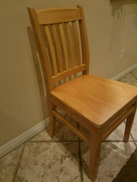 New All Wood Chair