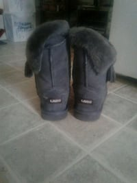 pair of black UGG boots Edmonton, T6A 1H5
