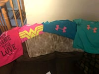 4 girls under armour shirts  Whitby, L1R 3H4
