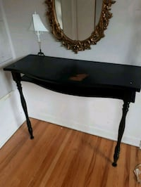 black wooden console table Châteauguay, J6K 3K4