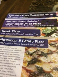 4 Blue Apro Recipe(Pizza) Stone Mountain, 30083