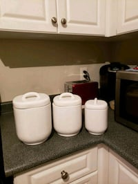 Vintage Ceramic Kitchen Canisters  Barrie, L4N 9T3