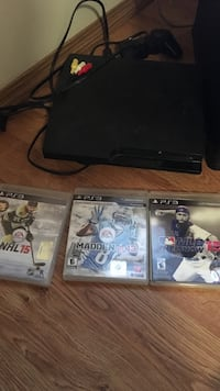three Sony PS3 game cases