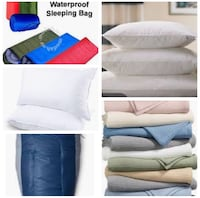 Looking for sleeping bags, pillows, blankets! Toronto, M3N 1A1