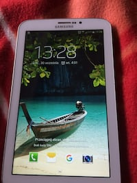 Hvit Samsung Tablet PC