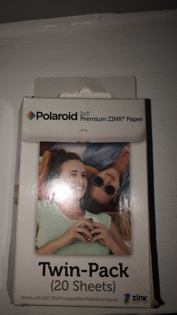 Used Polaroid 2x3 Premium Zink Paper For Sale In Lawrenceville Letgo