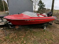 1982 glastron boat project with 80hp mercury York, 17403