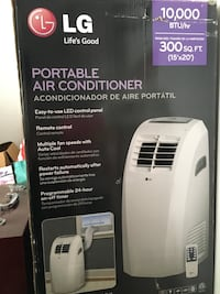 white Honeywell portable air conditioner box Brea, 92821