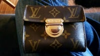black and brown Louis Vuitton leather wallet Edmonton, T5K 1R2