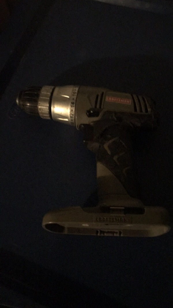 Craftsman drill 18v (battery not included)