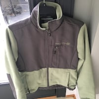 Girls size S gray and green jacket  Centreville, 20120