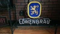 Lowenbrau neon light