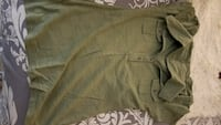 Size small army green