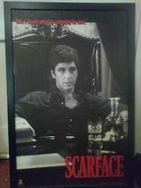 Framed Scarface picture