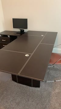 black and brown wooden table Houston, 77057