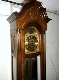 brown wooden grandfather's clock Westland, 48186