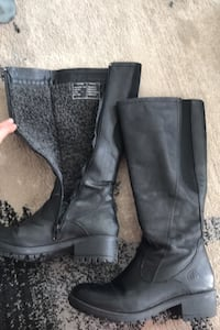 Leather Italian boots for super cold weather size 7  Toronto, M8Y 3J2