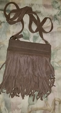 Brown leather purse Miller Place, 11764