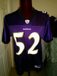 Ray Lewis  in-field Jersey by Reebok  size L Chestertown, 21620