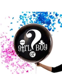 "36"" Gender Reveal Balloon Plano, 75023"