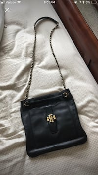 Black Tory Burch Purse real leather Beaumont, 92223