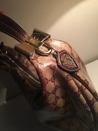 Gucci crystal bow hobo bag