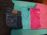 two blue and pink denim bottoms Lee's Summit, 64063