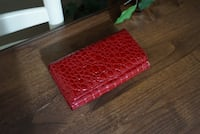 Yik Fung red croc wallet Houston, 77004