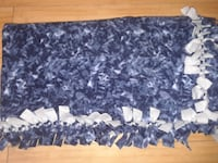 Blue/Gray Blanket/Throw - NEW - Christmas in July SALE!!! Plano