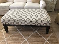 Ottoman works equally well as a coffee table, footrest or in-a-pinch seating.  Irvine, 92604