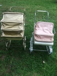 Antique doll strollers