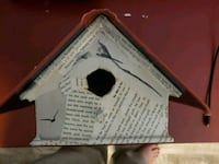 Book Themed bird house Burke, 22015