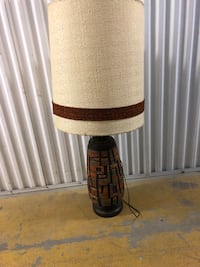 Tall retro lamp with large shade Toronto, M2R 3N1