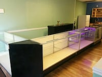 4 Retail Display Cases Waldorf