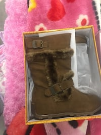 Hot Cakes Haley Buckle Boots - Girls 9M