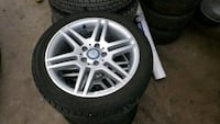 Mercedes winter tires and rims Toronto