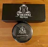 Viking Beard Brand Shaving Cream & Brush