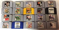 Nintendo 64 N64 System and games