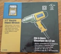 "NEW 1/2"" Electric Impact Wrench $129.99 retail at  Newmarket, L3Y 3J3"