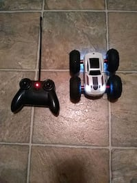 Remote control car this thing is super fun for the kids two sided car